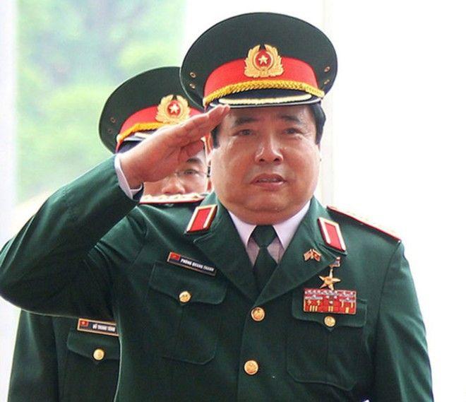 tiểu sử Phùng Quang Thanh