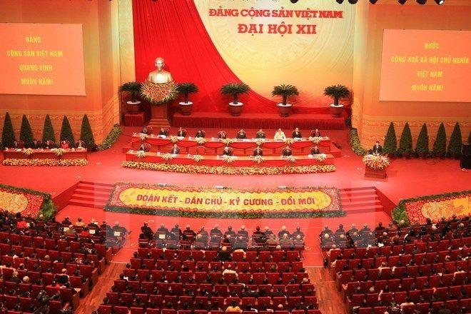 bài thu hoạch đại hội đại biểu toàn quốc lần thứ xii của đảng