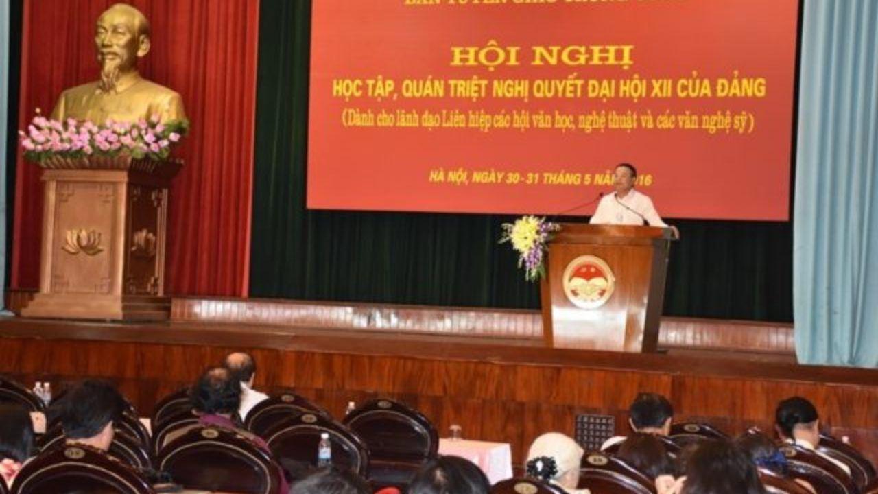 bài thu hoạch kết quả học tập quán triệt nghị quyết đại hội 12 của đảng