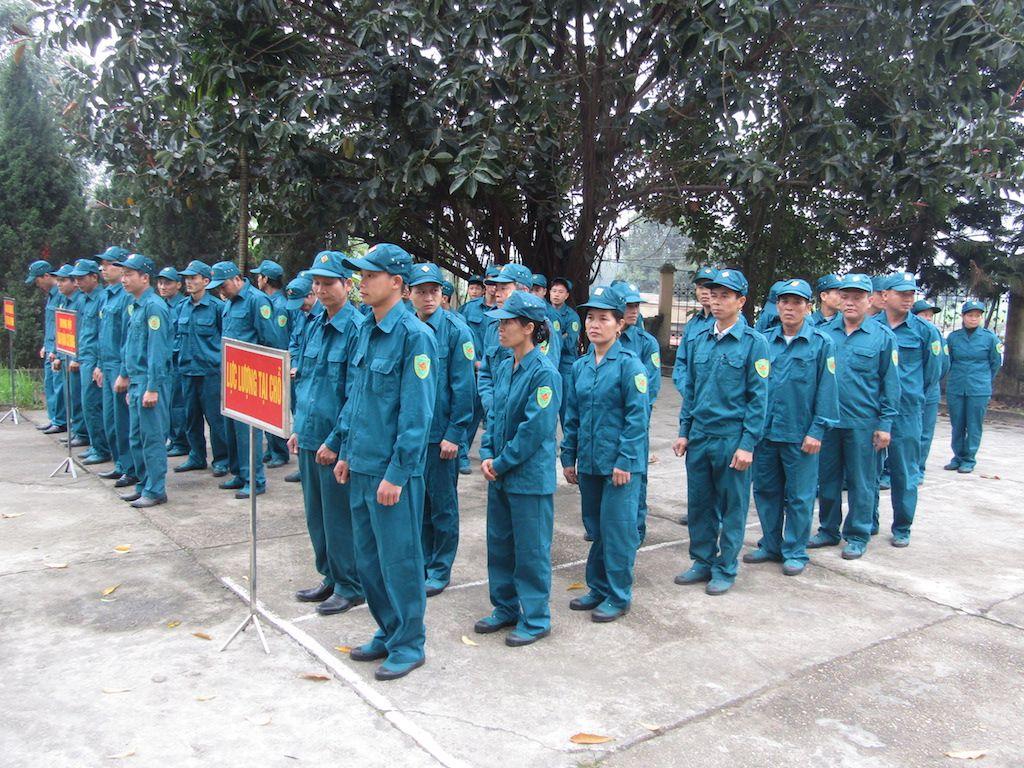 nhiệm vụ của dân quân tụ vệ