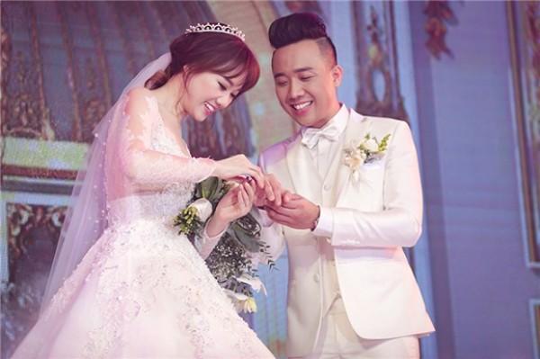 đám cưới trấn thành hari won