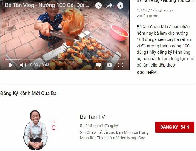 Bà Tân Vlog là ai