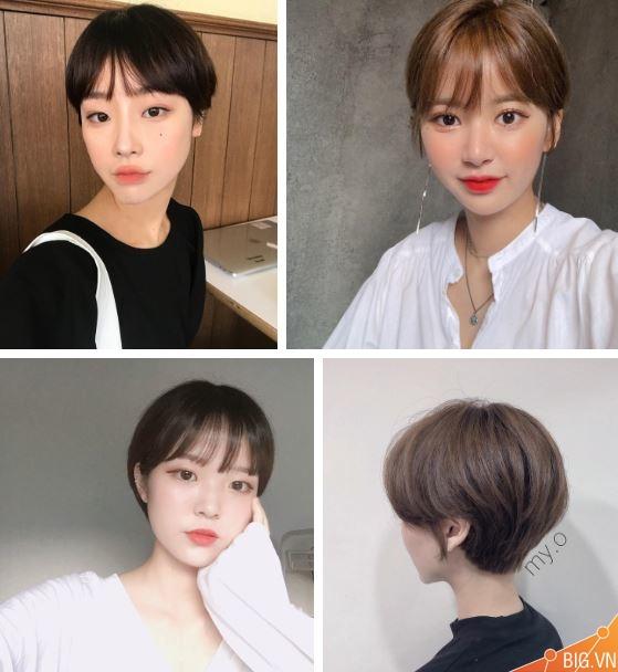 99 kiểu tóc tém nữ đẹp nhất 2019 phong cách Hàn Quốc đang gây sốt