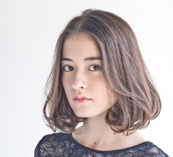 10 kiểu tóc ngắn cho mặt dài trán cao đẹp dễ thương như sao Hàn