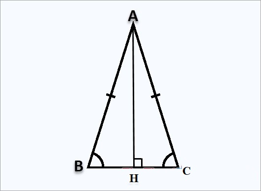 Cách tính đường cao trong tam giác thường, cân, vuông, đều