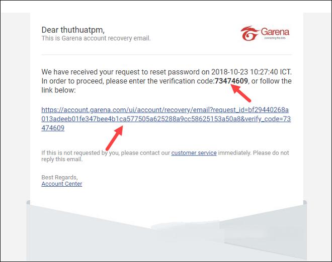 Cách lấy lại mật khẩu Garena bị mất bằng Gmail và số điện thoại