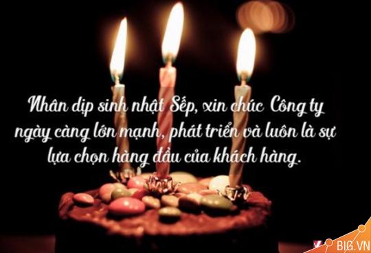 99 lời chúc mừng sinh nhật sếp vui nhộn hài hước và ý nghĩa nhất