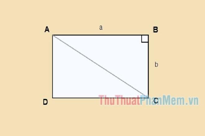 Hướng dẫn cách tính đường chéo hình vuông & hình chữ nhật đơn giản nhất