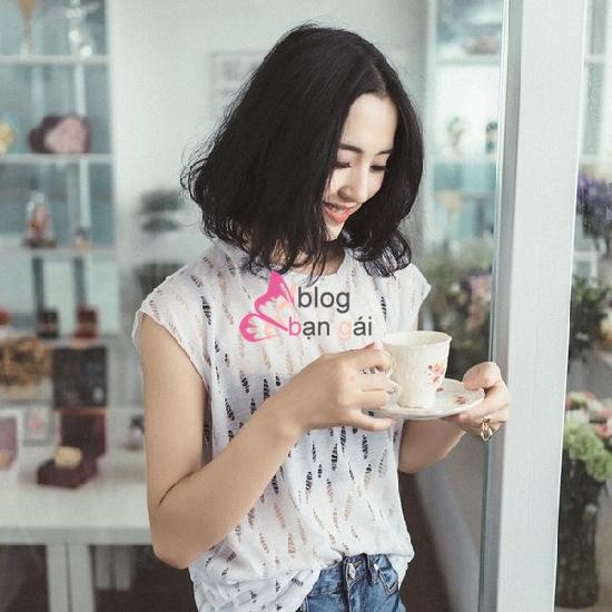 Top 10 kiểu tóc ngắn ngang vai Hàn Quốc đẹp dễ thương yêu thích nhất 2019 14