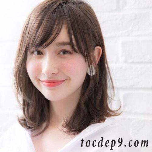 35 kiểu tóc ngắn cho mặt tròn trán cao đẹp 2019 che khuyết điểm hoàn hảo