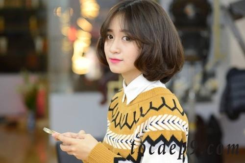 Top 35 kiểu tóc ngắn uốn xoăn đẹp nhất 2019 dàng riêng cho nàng công sở