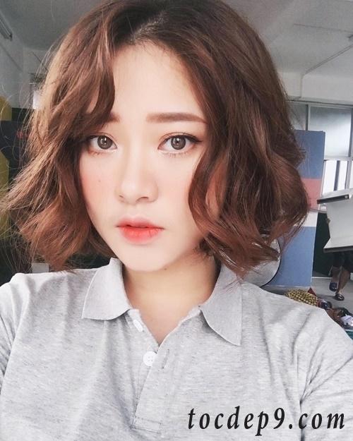 15 kiểu tóc xoăn sóng ngắn đẹp nhất 2019 bạn gái không thể bỏ qua