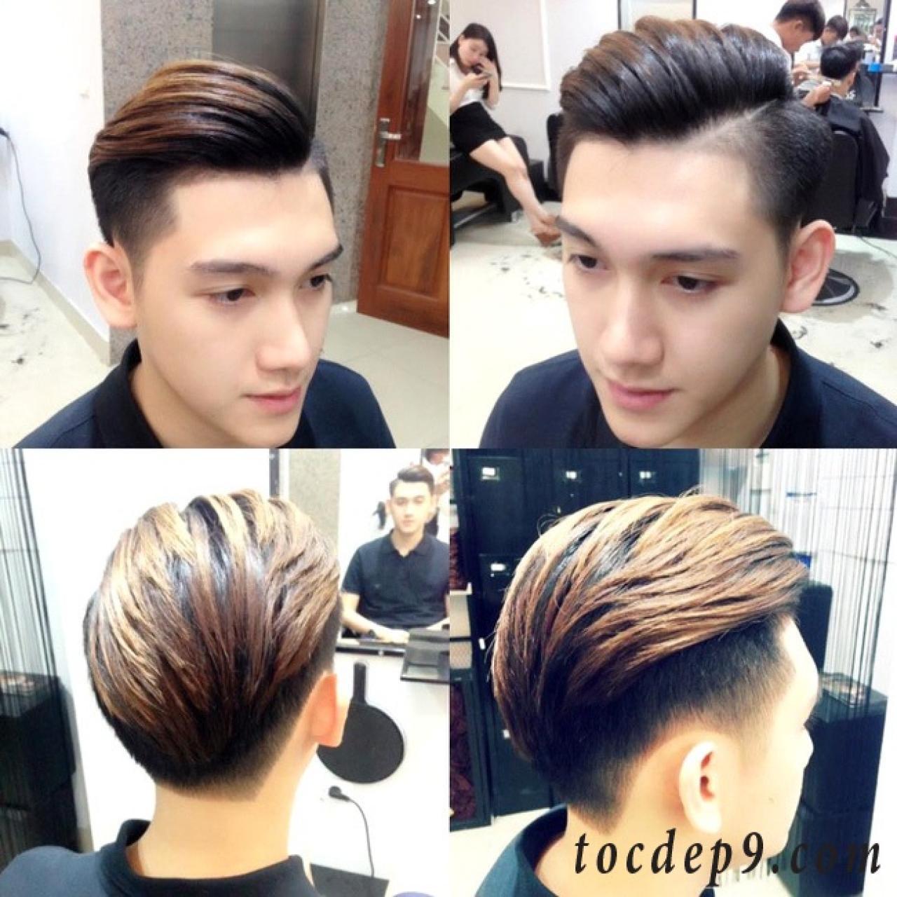 Cắt 37 kiểu tóc nam undercut ngắn Đà Nẵng đẹp 2019 thu gọn khuôn mặt to bự