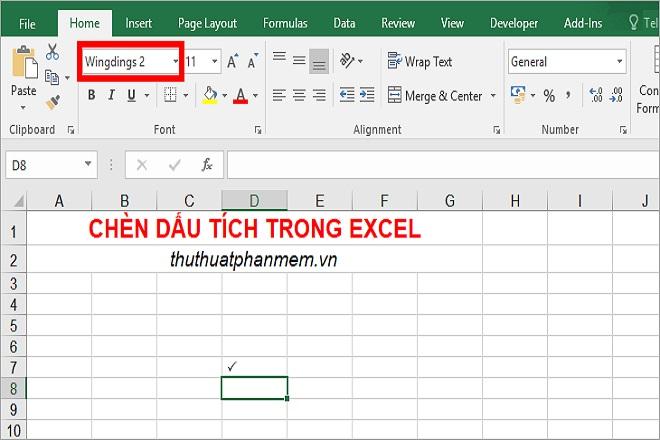 3 cách chèn dấu tick vào Word và Excel nhanh chóng đẹp mắt nhất