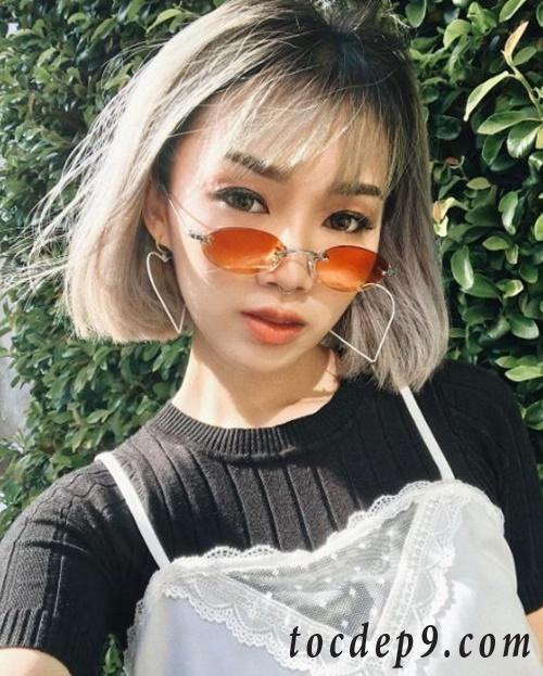 Tóc bob mái thưa đẹp hot trend 2019 phù hợp với mọi khuôn mặt