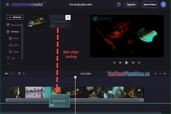 Cách ghép nhạc vào video online trực tuyến nhanh chuyên nghiệp nhất