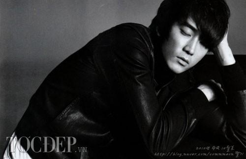 Những kiểu tóc nam đẹp của Song Seung Hun khiến phái nữ siêu lòng